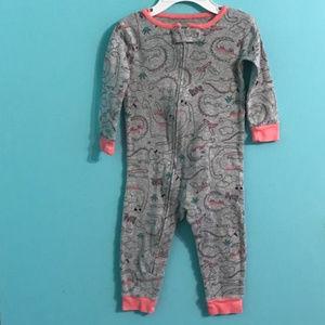 Carters Infant Girl Pajamas